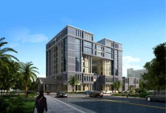 赤道几内亚财政部大楼